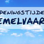 Openingsuren OLH-Hemelvaart